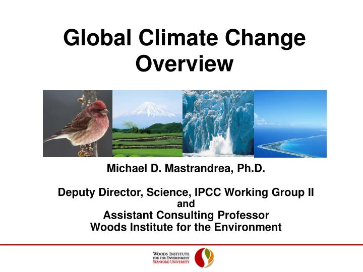 global climate change overview n.