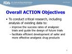 overall action objectives