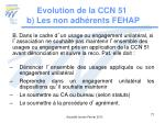 evolution de la ccn 51 b les non adh rents fehap3