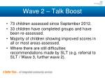 wave 2 talk boost1