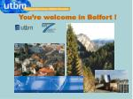 you re welcome in belfort