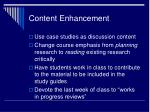 content enhancement2