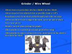grinder wire wheel
