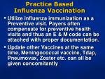 practice based influenza vaccination1