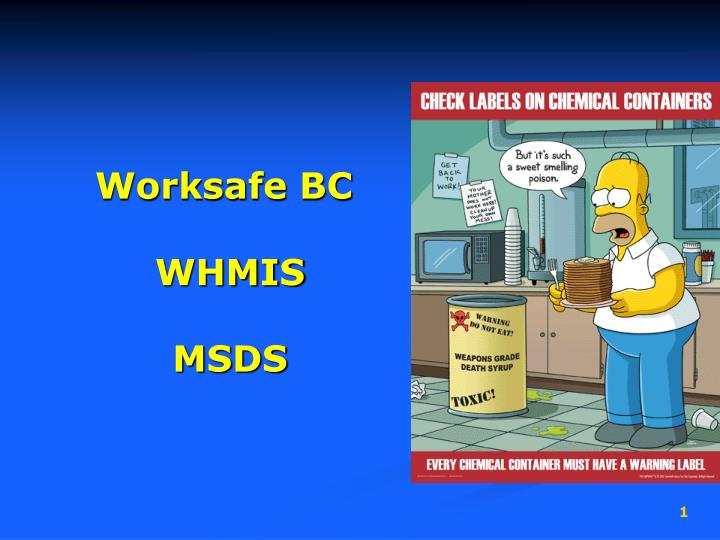 Msds = material safety data sheet ppt video online download.