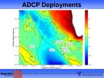 adcp deployments