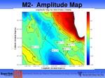 m2 amplitude map