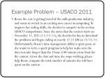 example problem usaco 2011