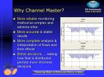 why channel master