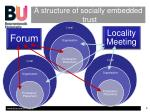 a structure of socially embedded trust1