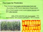 the case for pesticides1