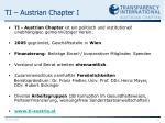 ti austrian chapter i