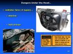 dangers under the hood