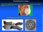 protecting your lungs