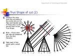 true shape of cut 2