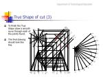 true shape of cut 3