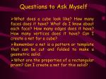 questions to ask myself