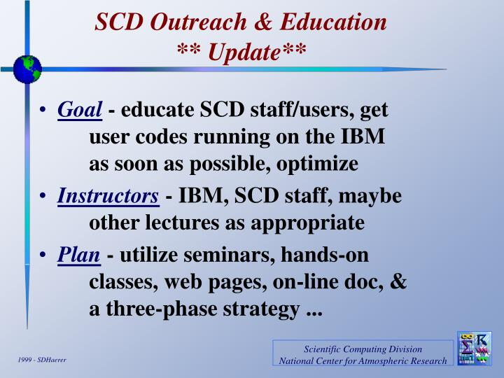 scd outreach education update n.