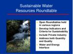sustainable water resources roundtable1