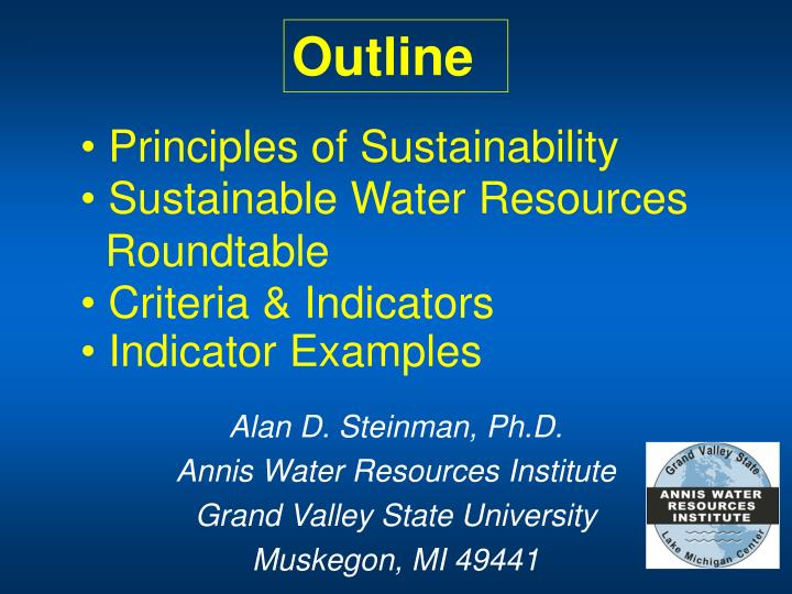 principles of sustainability n.