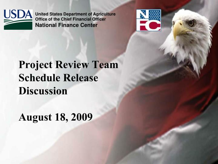 project review team schedule release discussion august 18 2009 n.