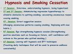 hypnosis and smoking cessation