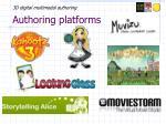 authoring platforms