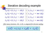 iterative decoding example3