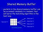 shared memory buffer