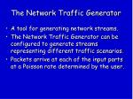 the network traffic generator