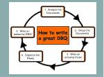 how to write a great dbq