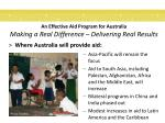 an effective aid program for australia making a real difference delivering real results5