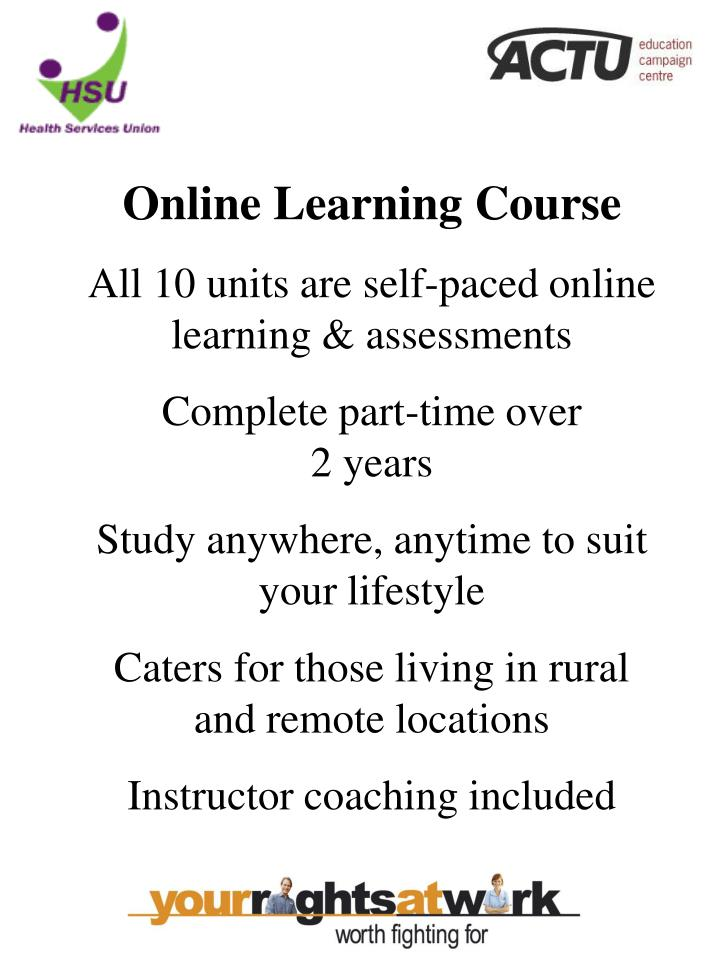 Online Learning Course