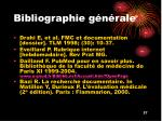 bibliographie g n rale