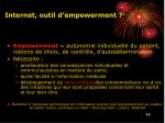 internet outil d empowerment 1