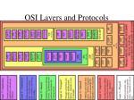 osi layers and protocols