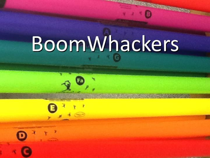boomwhackers n.