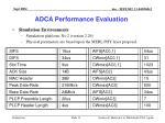 adca performance evaluation