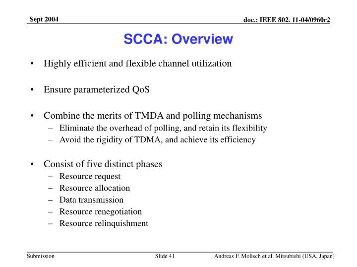 SCCA: Overview