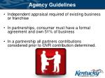 agency guidelines2