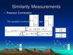 similarity measurements