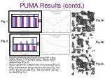 puma results contd
