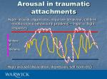 arousal in traumatic attachments