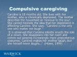 compulsive caregiving