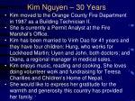 kim nguyen 30 years