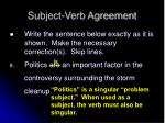 subject verb agreement7