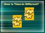 how is time in different