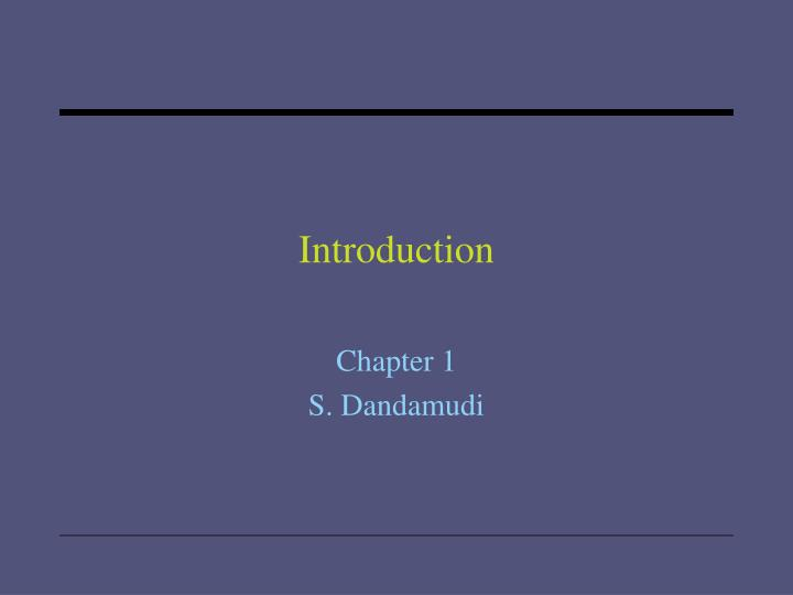 introduction n.