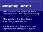 participating panelists