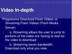 video in depth1